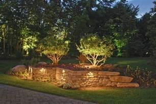 Landscape Wall Lighting Masonry