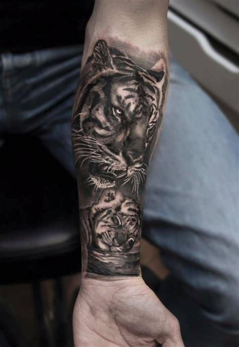 tiger forearm tattoo designs best 25 tiger forearm ideas on tiger