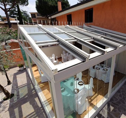 Balkonverglasung Selber Bauen by Schiebedach F 252 R Wintergarten Wintergartendach Zum 246 Ffnen