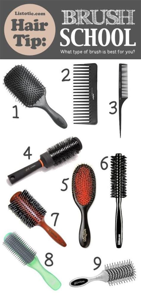 Best Type Of Brush For Hair by What Hair Brush Type Is Best To Use Trusper
