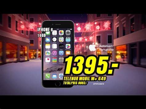 Tv Reklame tv reklame julen 2014 iphone 6 16gb med telenor m