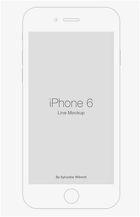 iphone templates for photoshop free iphone 6 line template psd titanui