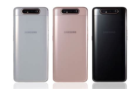 Samsung Galaxy A80 Dtac by Samsung Launches The Galaxy A80 In India Gsmarena News