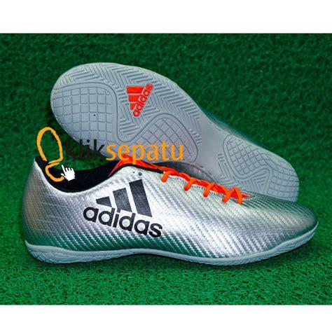 Sepatu Futsal Adidas X Merah Kualitas Komponen Ori Jual Sepatu Futsal Adidas X Chaos 16 1 Ic Silver Sepatu