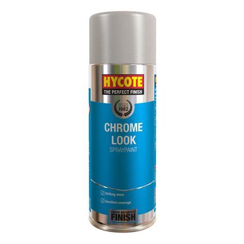 spray paint chrome hycote chrome look 400ml 1 x aerosol spray paint