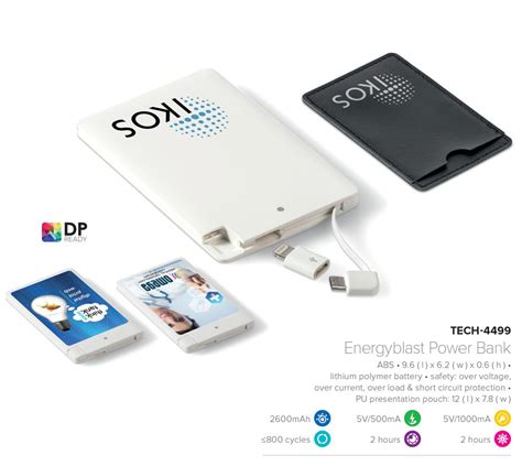 Power Bank Slim slim power bank mobile charger thin power bank