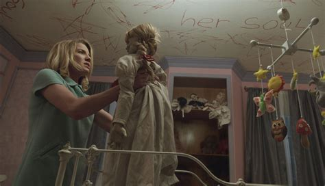 annabelle doll backstory review demonic doll annabelle returns
