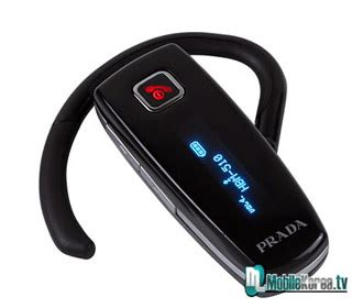 Prada Ear For Iphonesamsungopponokiabb And Other Cell Phone lg prada bluetooth headset busts onto the intomobile