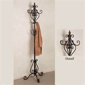 selena metal coat rack stand