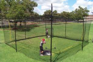 muhl 30x30x12 power dome batting cage hittingworld