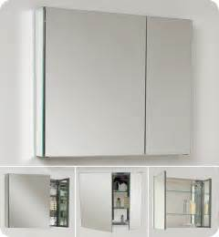 wide bathroom cabinet fresca fmc8090 medium 29 5 inch wide bathroom medicine