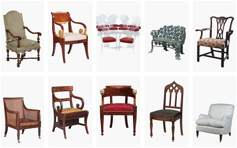 different furniture styles 10 chairs in 10 different styles christie s