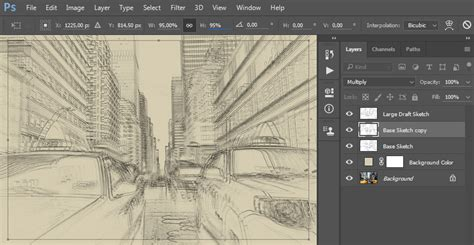 sketchbook new layer how to create a sketch effect in adobe photoshop