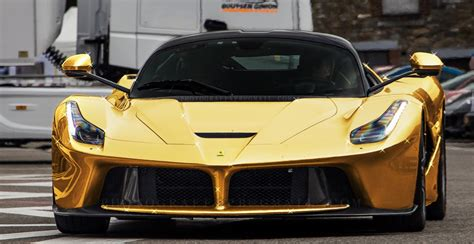 golden super cars 15 rare gold plated exotic super cars page 4 of 16