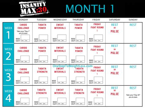 Calendario Insanity Insanity Max 30 Results Review Insanity 2 Worthy