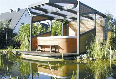 whirlpool für garten badewannen dekor eingebaut home design ideen