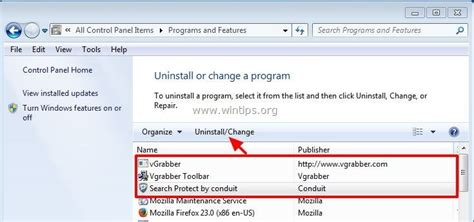 how to uninstall vgrabber from my computer remove vgrabber malicious program and vgrabber toolbar