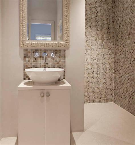 good Bathroom Tile Designs Gallery #4: beige_mosaic_bathroom_tiles_10.jpg