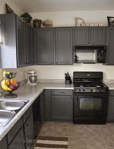 gray kitchen cabinets black appliances quicua com charcoal grey kitchen cabinets new home pinterest