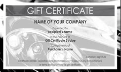 car wash gift certificate templates easy to use gift