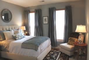 Grey And Blue Bedroom Ideas Traditional Bedroom Guest Room Redesign