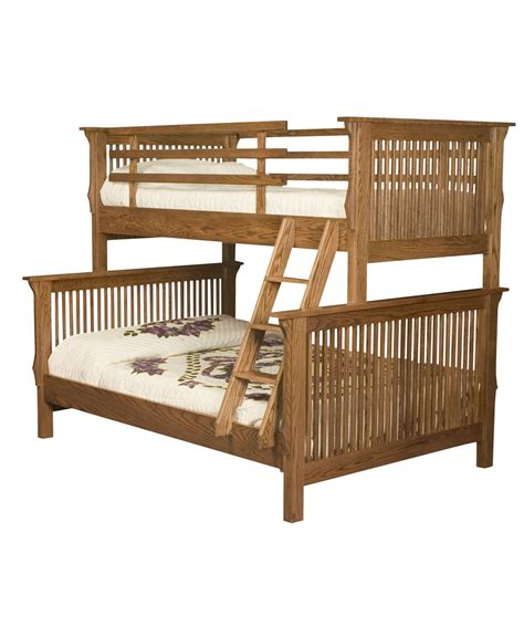 amish bunk beds mission bunk bed amish direct furniture