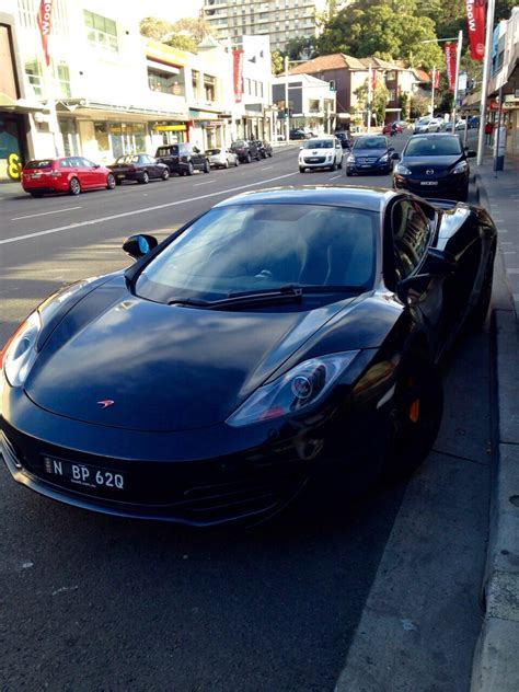 mclaren sydney mclaren 12c parked up in sydney