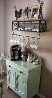 corner small coffee station