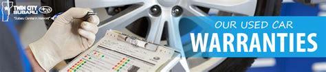 Car Warranty Types by Used Car Warranty Types At City Subaru 802cars