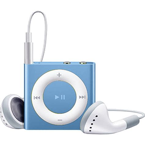 Apples Ipod Shuffle Now Out In A Selection Of Colours by Apple 2gb Ipod Shuffle Blue 4th Generation Mc751ll A B H