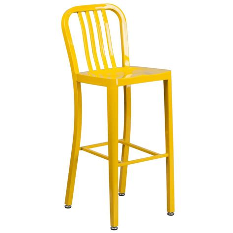 Yellow Stools by Flash Furniture 30 25 In Yellow Bar Stool Ch6120030yl