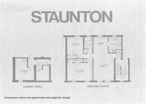 fairlington floor plans staunton model floor plan fairlington historic district