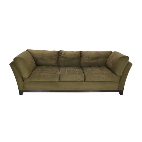 couch raymour flanigan microfiber second hand