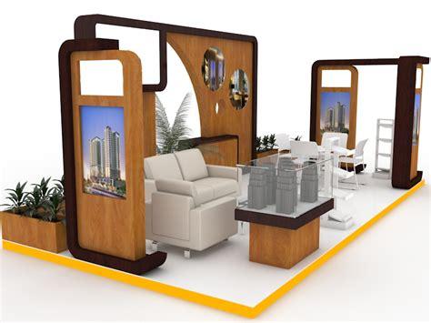 desain layout pameran desain booth pameran perumahan 6x4 tokofile