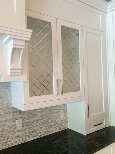 kitchen cabinet doors with glass panels decorative cabinet glass patterend glass