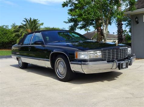 airbag deployment 1995 cadillac fleetwood seat position control purchase used 1995 cadillac fleetwood brougham sedan 4 door 5 7l in saint augustine florida