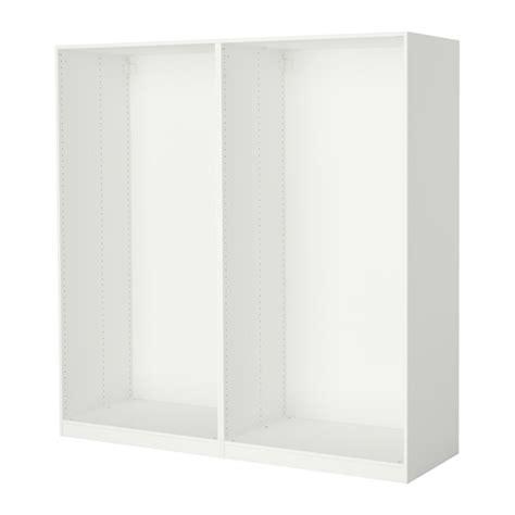 Bedroom Wardrobe Frames Pax 2 Wardrobe Frames White 78 5 8x22 7 8x79 1 4 Quot Ikea