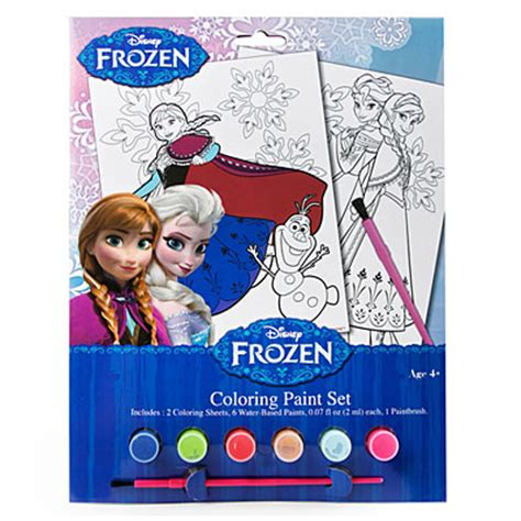 view disney 174 frozen coloring paint set deals at big lots