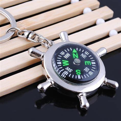 Compas Kompas Petunjuk Arah G50 gantungan kunci kompas unik petunjuk arah akurat dan unik