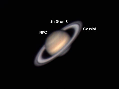 features of saturn saturn features astronomy pictures at telescopes