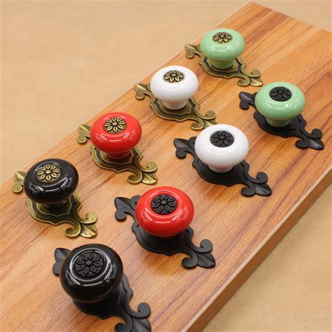 Ceramic Kitchen Door Knobs by 10pcs Drawer Knob Pull Handle Ceramic Cupboard Door