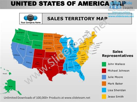 Sales Territory Map images