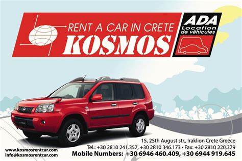 Auto Rent by Kosmos Car Rental Crete Auto Rent Heraklion