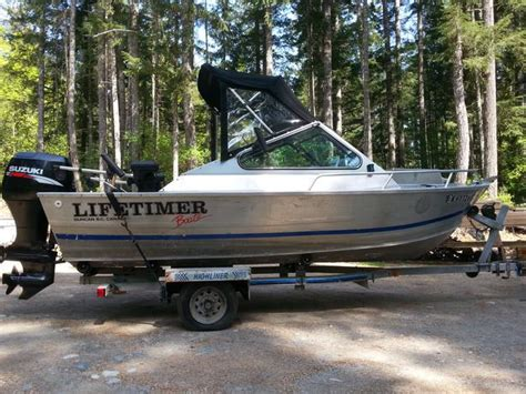 used welded aluminum boats for sale bc 16 5 lifetimer welded aluminum outside nanaimo nanaimo