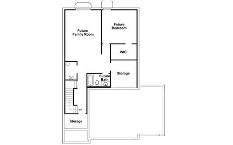 coronado basement floor plan liberty homes your utah