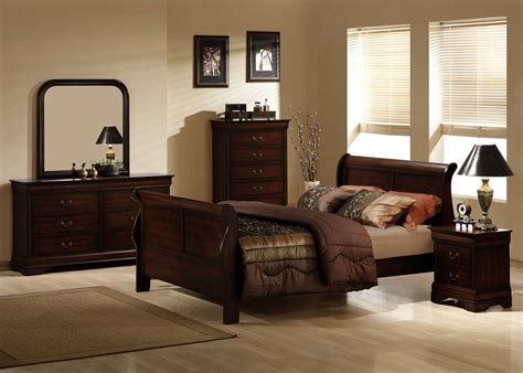 homelegance chateau brown bedroom set b549 homelement