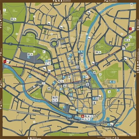 Train Floor Plan by Bath City Centre Map Download Free Map Of Bath