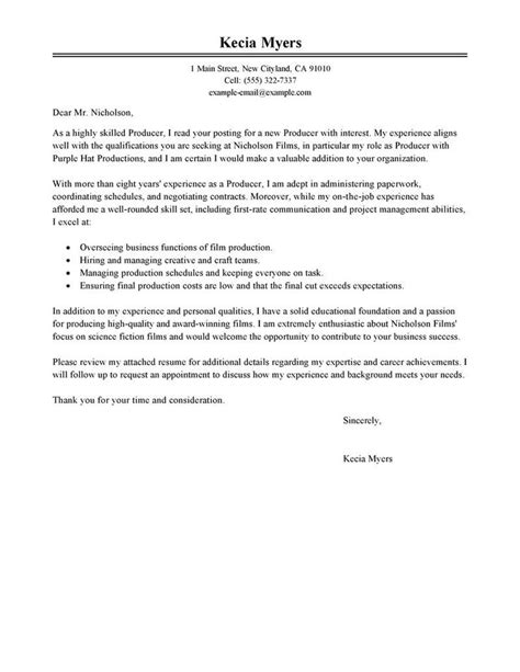 25 best ideas about free cover letter exles on