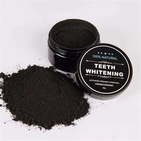 charcoal  white teeth   perfect smile tooth