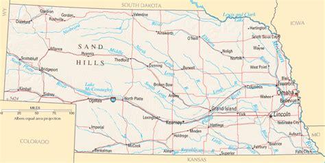map us nebraska nebraska map listings united states